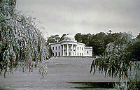 Sundridge Park Manor:  Bromley, London.  Humphry Repton  landscaped the park and recommended John Nash to design the manor, 1799.   However, Samuel Wyatt completed the project after Nash walked away.