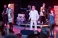 POMPANO BEACH, FL &ndash; JULY 1: B-52's at the Pompano Beach Amphitheater in Pompano Beach, FL. July 1, 2018. <br /> CAP/MPI04<br /> &copy;MPI04/Capital Pictures