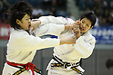 (L to R) Akari Ogata, Ruika Sato, NOVEMBER 12, 2011 - Judo : Kodokan Cup 2011 Women's -78kg at Chiba Port Arena, Chiba, Japan. (Photo by YUTAKA/AFLO SPORT) [1040]