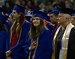 A photograph from the TMCC Graduation held at Lawlor Events Center in Reno, Nevada on Friday, May 11, 2018.