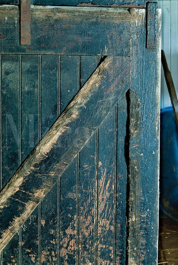 Horse barn detail.
