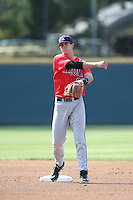 Kevin Newman (2) of the Arizona Wildcats in the field during a game against the UCLA Bruins at Jackie Robinson Stadium on May 16, 2015 in Los Angeles, California. UCLA defeated Arizona, 6-0. (Larry Goren/Four Seam Images)