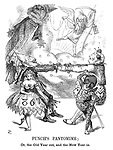 Punch's Pantomime; Or, the old year out, and the new year in.