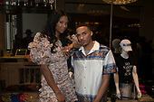 OXON HILL, MARYLAND - MAY 25: Jennifer Williams and Kyle Anfernee visit Swagg Boutique at MGM National Harbor on May 25, 2019 in Oxon Hill, Maryland. (Photo by Brian Stukes/ON-SITEFOTOS)