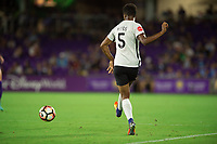 Orlando, FL - Saturday August 12, 2017: Maya Hayes during a regular season National Women's Soccer League (NWSL) match between the Orlando Pride and Sky Blue FC at Orlando City Stadium.