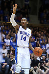 26 November 2014: Duke's Rasheed Sulaimon. The Duke University Blue Devils hosted the Furman University Paladins at Cameron Indoor Stadium in Durham, North Carolina in a 2014-16 NCAA Men's Basketball Division I game. Duke won the game 93-54.