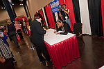 Lin of (ABC 13- KTRK)  films Jones as she signs her book at the Texas Conference for Women 2010. Your Time is Now!