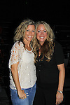 "General Hospital Laura Wright ""Carly"" poses with Debbie Bald-Fowler who went to high school with Laura at Surrattsville, High School in  Maryland. The fans got a chance to takes all the various wines, a Q&A,  photos, autographs. (Photo by Sue Coflin/Max Photos)"