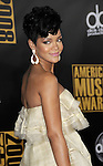 Rihanna arriving at the 2008 American Music Awards  held at The Nokia Theatre Los Angeles, Ca. November 23, 2008. Fitzroy Barrett