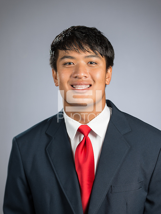 STANFORD, CA - August 8, 2016: The Stanford Cardinal Football Portraits
