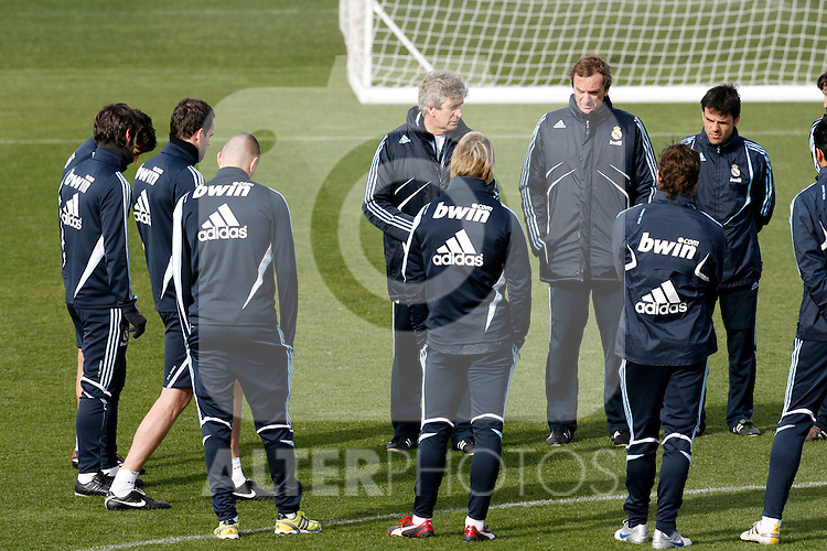 Madrid (02/03/10).-Entrenamiento del Real Madrid....© Alex Cid-Fuentes/ ALFAQUI..Madrid (02/03/10).-Training session of Real Madrid c.f....© Alex Cid-Fuentes/ ALFAQUI.
