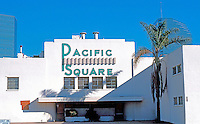 San Diego: The old Pacific Square Ballroom, before its 1988 destruction. 1375 Pacific Highway.<br />