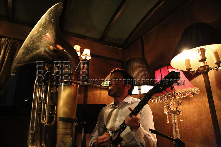 The Tuba Machine performs at the New York Hot Jazz Festival own September 30, 2018 at The McKittrick Hotel in New York City.