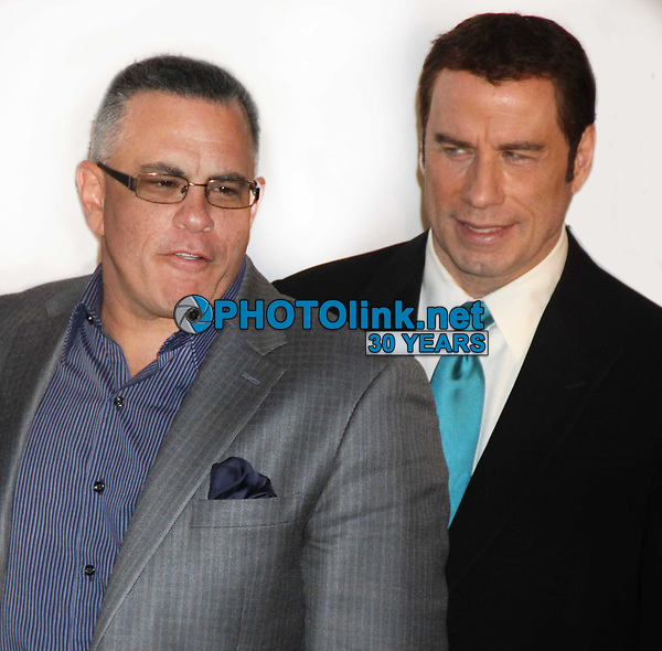 New York City<br /> CelebrityArchaeology.com<br /> 2011 FILE PHOTO<br /> John Gotti Jr. John Travolta<br /> Photo by John Barrett-PHOTOlink.net<br /> -----<br /> CelebrityArchaeology.com, a division of PHOTOlink,<br /> preserving the art and cultural heritage of celebrity <br /> photography from decades past for the historical<br /> benefit of future generations.<br /> ——<br /> Follow us:<br /> www.linkedin.com/in/adamscull<br /> Instagram: CelebrityArchaeology<br /> Twitter: celebarcheology