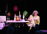 Andrae Alexander and Allee Willis perform 'Ba-de-ya Baby! Or: How I Learned to Love Theatre' for La Mama's 55th Anniversary Gala at La Mama on November 10, 2016 in New York City.