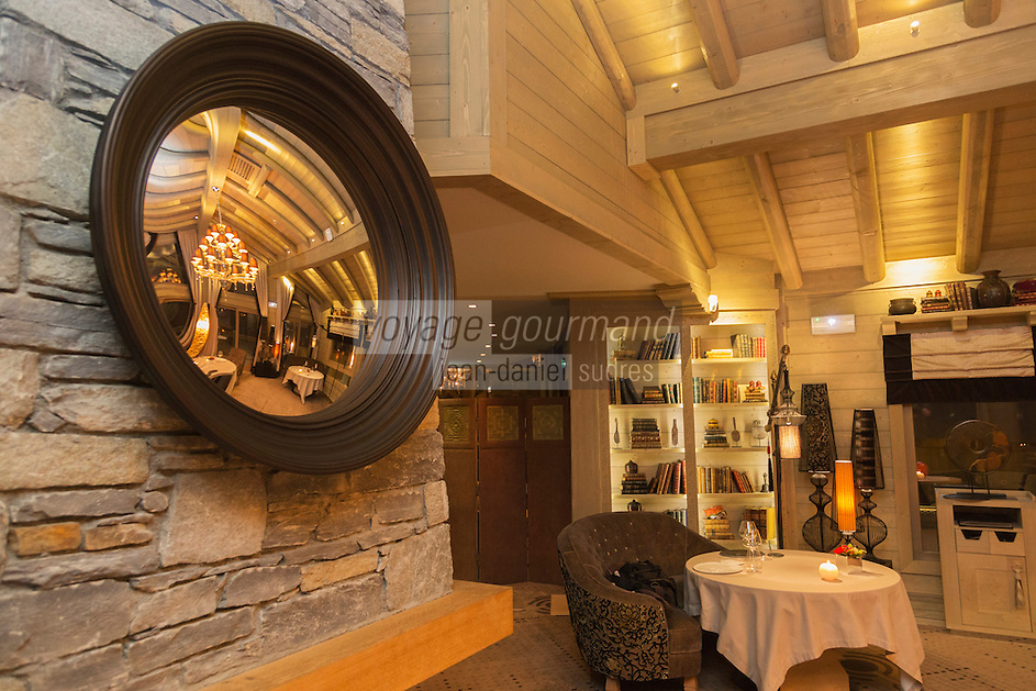 Europe/France/Rhone-Alpes/73/Savoie/Courchevel: Hôtel-Restaurant: Le K2, Restaurant: Kintessence [Non destiné à un usage publicitaire - Not intended for an advertising use]
