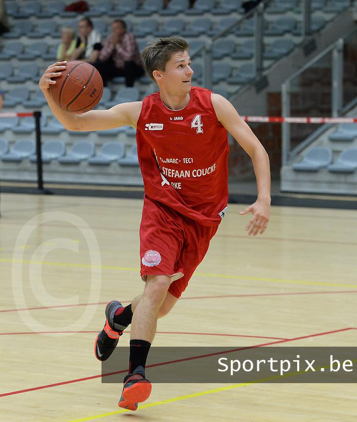 Kortrijk Sport CB : Mathieu Bergen<br /> foto VDB / BART VANDENBROUCKE