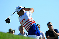 Gary Woodland (USA) in action during the third round of the Northern Trust, played at Liberty National Golf Club, Jersey City, New Jersey, USA 10/08/2019<br /> Picture: Golffile | Michael Cohen<br /> <br /> All photo usage must carry mandatory copyright credit (© Golffile | Phil Inglis)