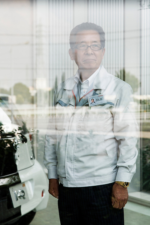 Toyota city, July 16 2014 - At Toyota's Takaoka plant, portrait of Mr. Kawai, in charge of the new training program for highly qualified workers
