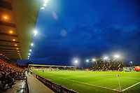 A general view of Sincil Bank, home of Lincoln City FC<br /> <br /> Photographer Chris Vaughan/CameraSport<br /> <br /> The Emirates FA Cup Second Round - Lincoln City v Carlisle United - Saturday 1st December 2018 - Sincil Bank - Lincoln<br />  <br /> World Copyright © 2018 CameraSport. All rights reserved. 43 Linden Ave. Countesthorpe. Leicester. England. LE8 5PG - Tel: +44 (0) 116 277 4147 - admin@camerasport.com - www.camerasport.com
