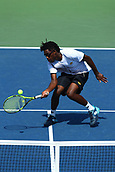 5th September 2017, Flushing Meadowns, New York, USA;  Junior Boys Alafia Ayeni (USA) during day nine match of the 2017 US Open tennis tournament on September 5, 2017, at Billie Jean King National Tennis Center in Flushing Meadow