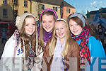 PARADE: Enjoying the CH Chemist Parade on Saturday in Tralee, L-r: Jayde Pope, Ciara Cusack, Louise Magown and Katie Carroll............................ ..........
