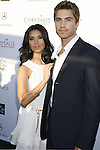 Roselyn Sanchez and Eric Winter arrive at 7th Annual Chrysalis Butterfly Ball on May 31, 2008 at a Private Residence in Los Angeles, California.