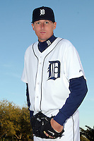 Feb 21, 2009; Lakeland, FL, USA; The Detroit Tigers pitcher Eddie Bonine (49) during photoday at Tigertown. Mandatory Credit: Tomasso De Rosa/ Four Seam Images