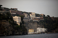 The Marina Grande is seen on Saturday, Sept. 19, 2015, in Sorrento, Italy. (Photo by James Brosher)