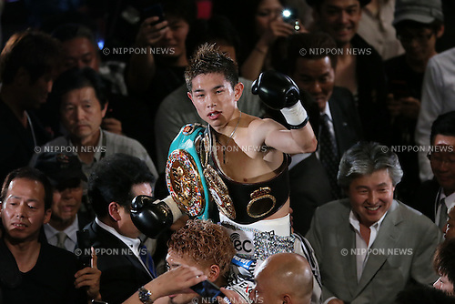 Kazuto Ioka, .JUNE 20, 2012 - Boxing : .the WBC and WBA minimum weight titles bout at.at Osaka Prefectural Gymnasium/BODYMAKER Colosseum in Osaka, Japan. .(Photo by Akihiro Sugimoto/AFLO SPORT) [1080]