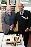 Vernon Mac Master who retired in 2005 with Principal Richard Schmidt as Drogheda Grammar School celebrate 340 years of education...Photo NEWSFILE/Jenny Matthews.(Photo credit should read Jenny Matthews/NEWSFILE)....This Picture has been sent you under the condtions enclosed by:.Newsfile Ltd..The Studio,.Millmount Abbey,.Drogheda,.Co Meath..Ireland..Tel: +353(0)41-9871240.Fax: +353(0)41-9871260.GSM: +353(0)86-2500958.email: pictures@newsfile.ie.www.newsfile.ie.FTP: 193.120.102.198.