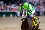 May 3, 2019 : Break Even, #4, ridden by jockey Shaun Bridgmohan, wins the Eight Bells on Kentucky Oaks Day at Churchill Downs on May 3, 2019 in Louisville, Kentucky. Kaz Ishida/Eclipse Sportswire/CSM