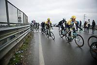 Tom Leezer (NLD/LottoNL-Jumbo) &amp; Bram Tankink (NLD/LottoNL-Jumbo)<br /> <br /> 106th Milano - San Remo 2015