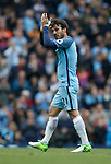 David Silva of Manchester City during the English Premier League match at the Etihad Stadium, Manchester. Picture date: May 6th 2017. Pic credit should read: Simon Bellis/Sportimage