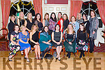 The Castleisland Presentation class of 1994 who celebrated their class reunion in the River Island Hotel on Monday night