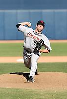 Bud Norris / Scottsdale Scorpions 2008 Arizona Fall League..Photo by:  Bill Mitchell/Four Seam Images