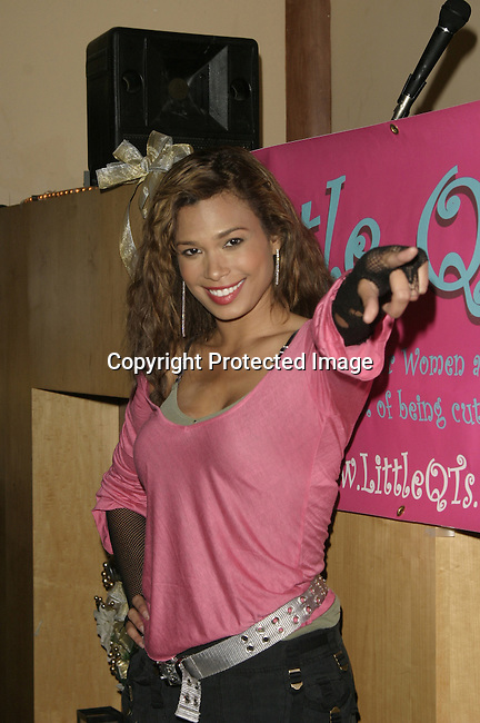 Natashia Williams<br />The QT Line Launch and Charity Event<br />Club Level One<br />Beverly Hills, CA, USA <br />Sunday, December 7,  2003<br />Photo By Celebrityvibe.com /Photovibe.com
