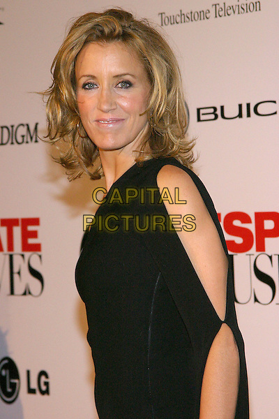 FELICITY HUFFMAN.Desparate Housewives - New ABC Series Viewing Party at Barney's Beverly Hills Store. .October 3rd, 2004.headshot, portrait, black sleeve, pinched, stitched, open.www.capitalpictures.com.sales@capitalpictures.com.© Jacqui Wong/AdMedia/Capital Pictures.