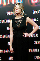 Ashley Benson attends 'Spring Breakers' photocall premiere at Callao Cinema in Madrid, Spain. February 21, 2013. (ALTERPHOTOS/Caro Marin) /NortePhoto