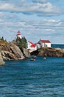 Head Harbour Light, Campobello Island, New Brunswick, Canada