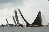 ZEILSPORT: LANGWEER: 01-08-2019, SKS Skûtsjesilen, ©foto Martin de Jong