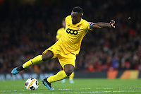 Paul-Jose Mpoku of Standard Liege in action during Arsenal vs Standard Liege, UEFA Europa League Football at the Emirates Stadium on 3rd October 2019