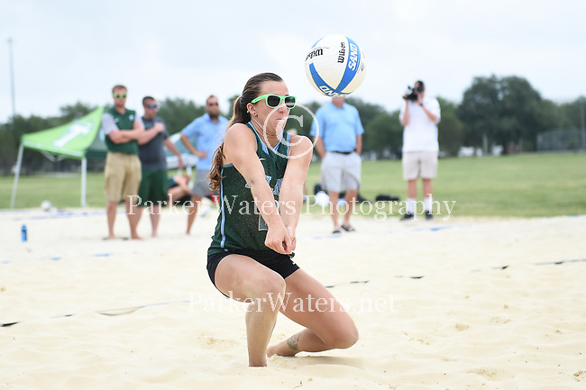 Senior Day with Tulane Beach Volleyball.