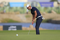 Ashun Wu (CHN) on the 3rd during the 1st round of  the Saudi International powered by Softbank Investment Advisers, Royal Greens G&CC, King Abdullah Economic City,  Saudi Arabia. 30/01/2020<br /> Picture: Golffile | Fran Caffrey<br /> <br /> <br /> All photo usage must carry mandatory copyright credit (© Golffile | Fran Caffrey)