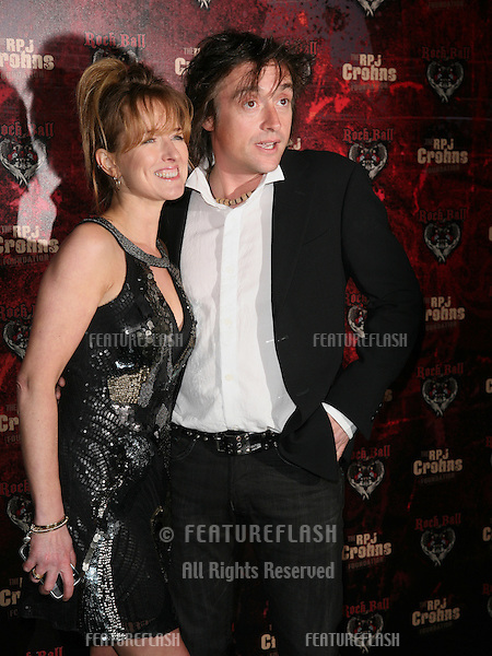 Richard Hammond and wife Amanda Etheridge arriving for the RPJ Crohns Foundation Rock Ball, London. 17/03/2010  Picture by: Alexandra Glen / Featureflash