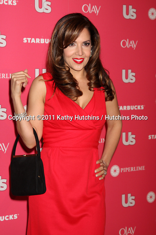 LOS ANGELES - APR 26:  Maria Canals-Barrera arriving at the 2011 US Weekly Hot Hollywood Style Event  at Eden on April 26, 2011 in Los Angeles, CA..