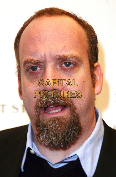 "PAUL GIAMATTI.New York City Premiere of ""The Last Station"" held at the Paris Theater, New York, NY, USA, .11th January 2010..portrait headshot goatee beard facial hair mouth open.CAP/ADM/PZ.©Paul Zimmerman/AdMedia/Capital Pictures."