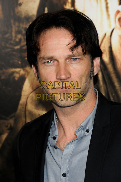 "STEPHEN MOYER .HBO's ""The Pacific"" Mini-Series Premiere held at Grauman's Chinese Theatre, Hollywood, California, USA..February 24th, 2010.headshot portrait black blue grey gray stubble facial hair.CAP/ADM/BP.©Byron Purvis/AdMedia/Capital Pictures."