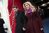 Singer Kelly Clarkson and Brandon Blackstock arrive at the presidential inauguration on the West Front of the United States Capitol January 21, 2013 in Washington, DC.   Barack Obama was re-elected for a second term as President of the United States.     .Credit: Win McNamee / Pool via CNP