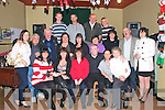 40th Birthday: Liz Loughnane, Listowel, centre front, celebrating her 40th birthday with family & friends at The Kingdom Bar , Listowel on Saturday night last.